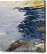 Yellow Sun In Evening Glow Canvas Print