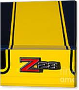 Yellow Z28 Canvas Print