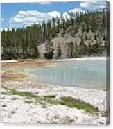 Yellowstone 1 Canvas Print