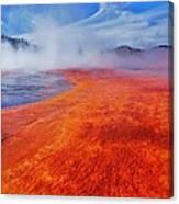 Yellowstone Basin Canvas Print