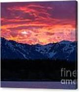 Yellowstone Beauty Canvas Print