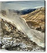 Yellowstone Canary Canvas Print