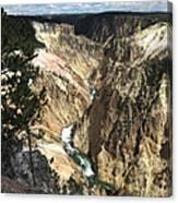 Yellowstone Canyon Canvas Print