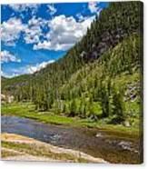 Yellowstone Gibbon River Canvas Print