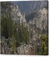 Yellowstone Grand Canyon Canvas Print