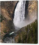 Yellowstone Lower Falls Canvas Print