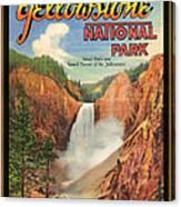 Yellowstone Park Canvas Print