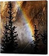Yellowstone Rainbow Canvas Print