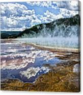 Yellowstone - Springs Canvas Print