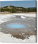 Yellowstone The Pearl Canvas Print