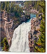 Yellowstone Upper Falls Canvas Print