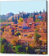 Yemin Moshe Canvas Print