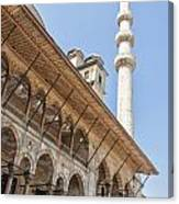 Yeni Cammii Mosque 11 Canvas Print