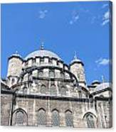 Yeni Cammii Mosque 12 Canvas Print