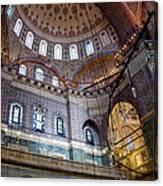 Yeni Valide  Camii Mosque Istanbul Turkey Canvas Print