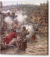 Yermaks Conquest Of Siberia Canvas Print