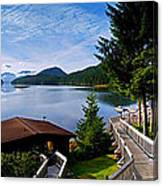 Yes Bay Lodge - The View Canvas Print