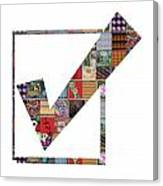Yes Positive Symbol Showcasing Navinjoshi Gallery Art Icons Buy Faa Products Or Download For Self Pr Canvas Print