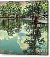 Yesteryear At Caddo Lake Canvas Print
