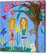 Yesteryears When We Were Teens Canvas Print