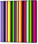 Yikes Stripes Canvas Print