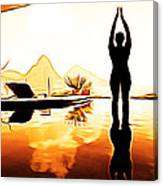 Yoga Life Canvas Print
