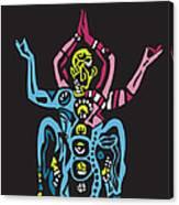 Yogazi Canvas Print