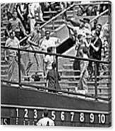 Yogi Berra Home Run Canvas Print