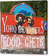 Yoho Brothers Canvas Print