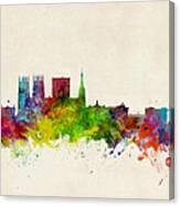 York England Skyline Canvas Print