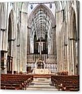 York Minster 6114 Canvas Print