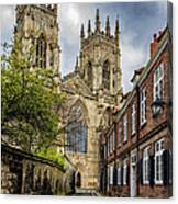 York Minster England Canvas Print