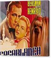 Yorkshire Terrier Art Canvas Print - Casablanca Movie Poster Canvas Print