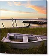 Yorktown Beach Sunset Canvas Print