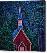 Chapel Canvas Print