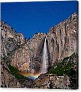 Yosemite Falls Moonbow Canvas Print