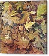 Yosemite Leaves Canvas Print