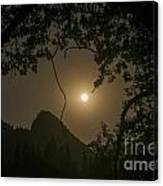 Yosemite Moonrise Canvas Print