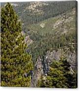 Yosemite Mountain High Canvas Print