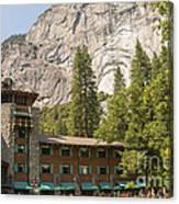 Yosemite National Park Lodging Canvas Print