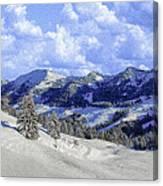 Yosemite National Park Winter Canvas Print