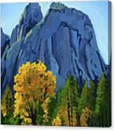 Yosemite Oaks Canvas Print