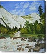 Yosemite Park Canvas Print