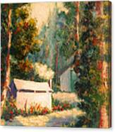 Yosemite Tent Cabins Canvas Print