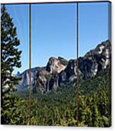 Yosemite Triptych Canvas Print