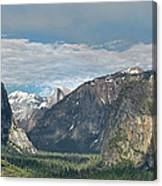 Yosemite Valley Afternoon Canvas Print