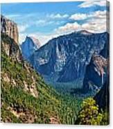 Yosemite Valley Overlook Canvas Print