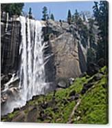Yosemite's Mist Falls Canvas Print