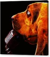 You Ain't Nothing But A Hound Dog - Dark - Electric Canvas Print