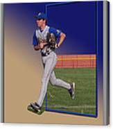 Young Baseball Athlete Canvas Print